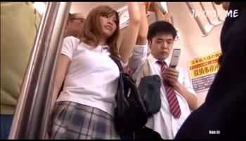 【ギャル 痴女 柴咲エリカ】痴漢を望む変態女子校生に迫り来る痴漢の魔の手