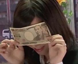 【マジックミラー号】理性と性欲、金銭欲!お金に負けて股を開く清楚ビッチなOLさん