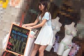 「店長ごめんなさい…」接客好感度2年連続1位の有名ショップ店員がAVデビュー!