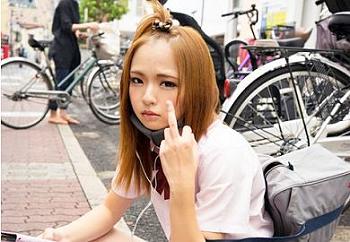 【円光】「別に生エッチでいいよw」毛も生えていないツルペタ幼女体型のヤンキー娘と濃密交尾!宮沢ゆかり