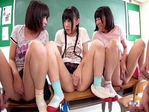 【口リ】『ちょっと男子達~おまんこ見せるからちんちん見せてよ~』篠宮ゆり 葵こはる 小西まりえ