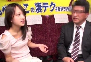 イカせると意気込むも出来ず、福島から来た男性に膣内射精のご褒美