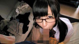 新宿で神待ちをする美少女JKを家に連れ込んで中出し三昧!