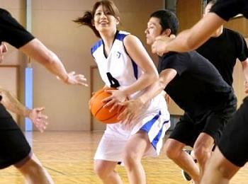〔スポーツ娘〕長身&爆乳おっぱいの可愛いスポーツ美女とエロいGAME対決の後でパコパコSEX!(企画)||