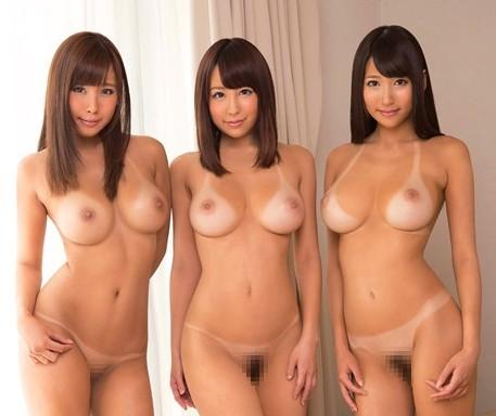 日焼けした女子大生3人組とのハメまくり1泊2日旅行wwww