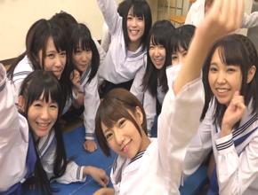 『せっくすサイコー!!』放課後の教室で思春期娘達が男の子と子作りエッチ祭り開催!||