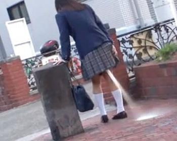 清純女子校生がアナルに媚薬を浣腸され極限突破の2穴噴射ファックされちゃう