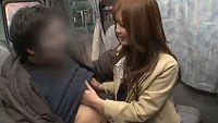 【エロ動画】加藤リナ 素人ナンパ企画!童貞君をカーセックスで筆下ろし!
