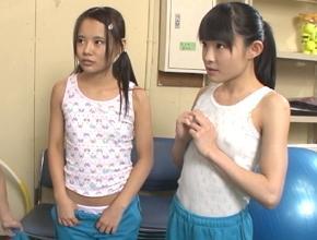 小○校の身体測定中に呼び出されたJS少女たちが先生にレイプされる!
