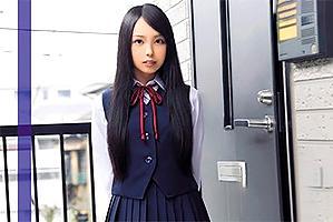 黒髪、パイパン、145cm…中出しOKの制服美少女デリバリー!