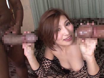 【夏希みなみ】ブラックモンスターが美女の膣内で暴れまわる!このデカチンマジヤバイ!
