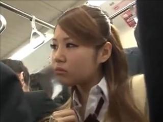【JK 女子校生】痴漢に抵抗できない気弱な女の子をトイレに連れ込み本番レイプ