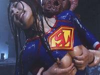 敗北を喫し、触手型怪人に陵辱されつくすスーパーレディ 舞希 香