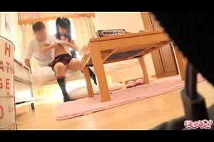 SEXに興味津々のロリっ子JKが家庭教師とガチハメエロ動画ww