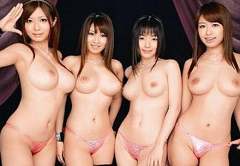 【痴女】「誰のオマンコでイキたい?」ムッチリ巨乳のギャルお姉さん達と連続SEX!さとう遥希 つぼみ 愛原さえ 北川瞳
