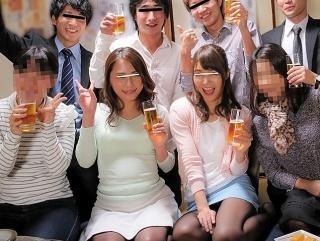 【素人企画】同窓会でハメをはずし過ぎて中出ししちゃったハメ撮り映像!同級生の美巨乳に大興奮!