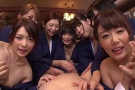 美人女将が心を込めたスペシャルテクニックで接待!全編完全主観の超VIP温泉旅館の旅!!お出迎え~温泉接客、宴会から次の日のお目覚めまで、至るところで至極の性交サービスを満喫。