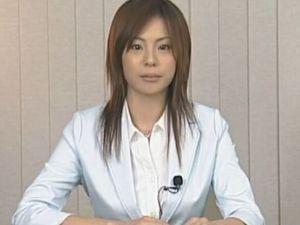 放送事故の処分が不服で会社を訴えると騒ぎ出した女子アナにお仕置きファック 三津なつみ