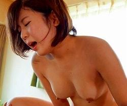 【河野アキ】 現役女子大生と温泉旅行、中出しセックス