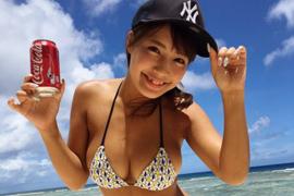 アイドルユニット「sherbet」所属でプロデューサーからセクハラ行為を受けてた橋本梨菜ちゃんの爆乳セミヌード