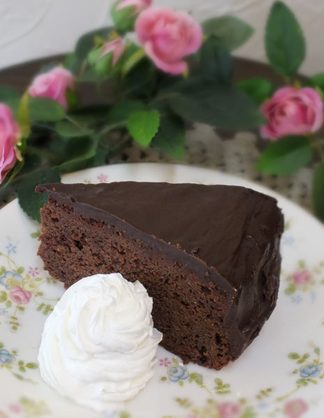 簡単はちみつチョコレートケーキ