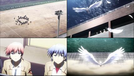 エンジェルビーツ11話 天使の翼