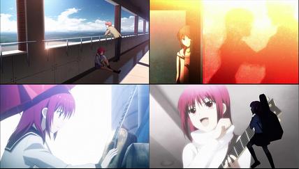 Angel Beats!3話 岩沢の理不尽な過去