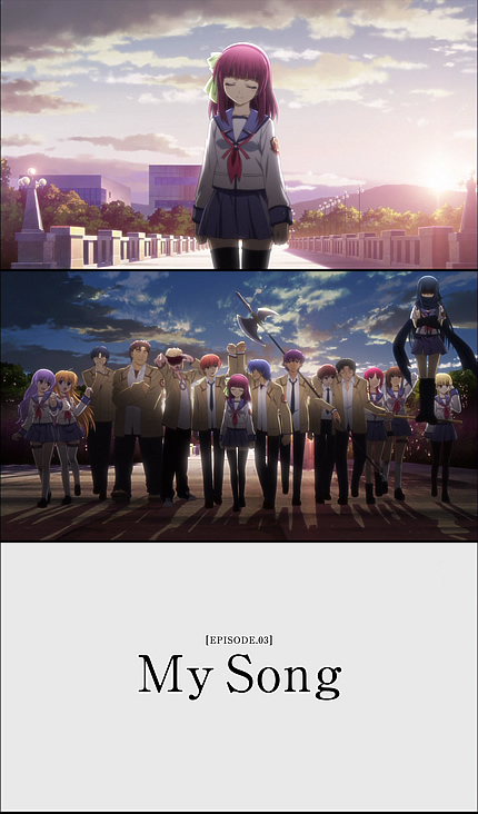Angel Beats!2話 ED