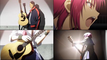 Angel Beats!3話 岩沢の新曲