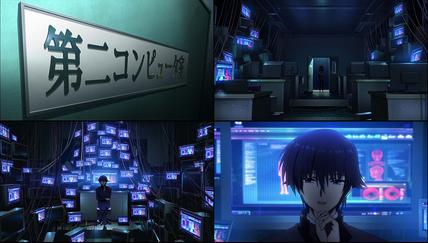 エンジェルビーツ12話 第二コンピュータ室へ