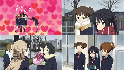 けいおん!!22話 バレンタイン当日