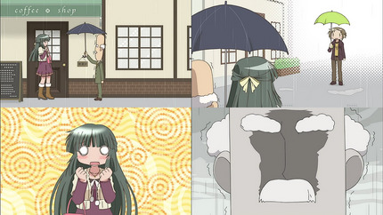 ひだまりほしみっつ11話 とっておいた相々傘
