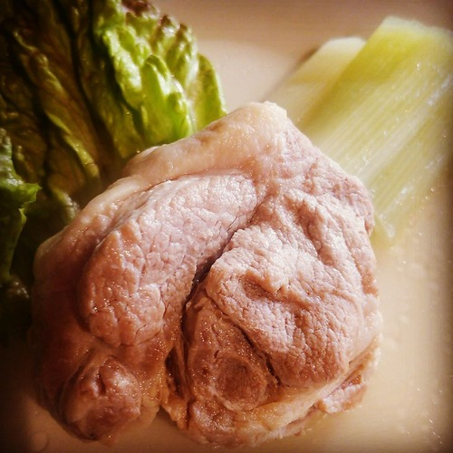 豚ロースの塩煮
