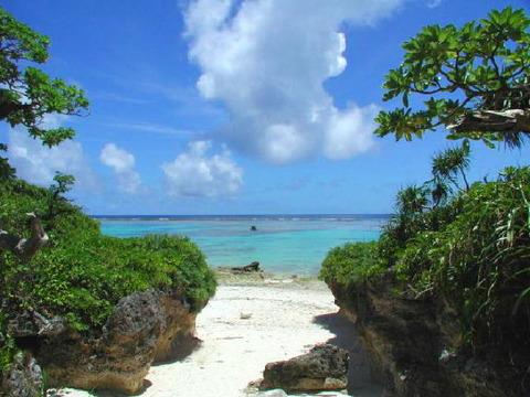 島中素敵な海岸