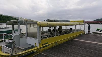 ジャングルクルーズ船