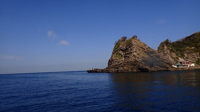 島には沢山の釣り人