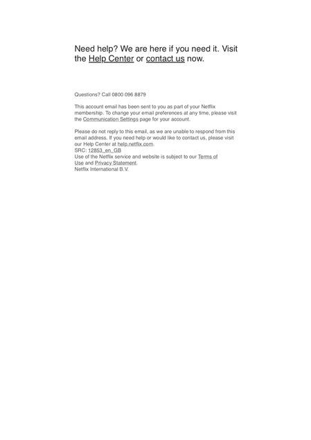 netflix詐欺メール2