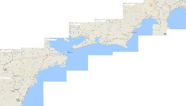 紀伊半島旅行地図 2