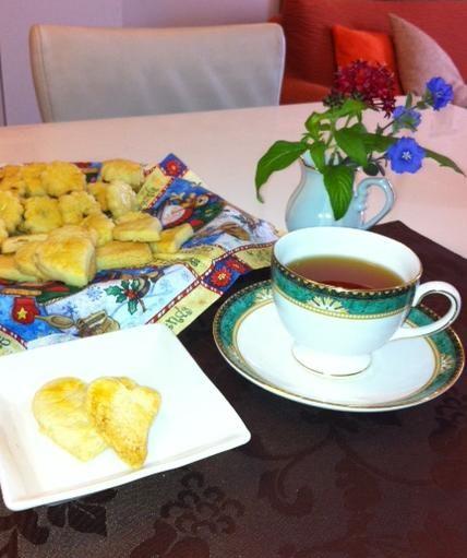大好きな紅茶と共に私のリラックスタイム