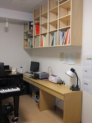 ピアノ室本棚6