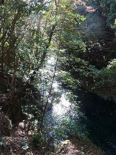 猿田淵つり橋