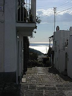 カプリ島路地