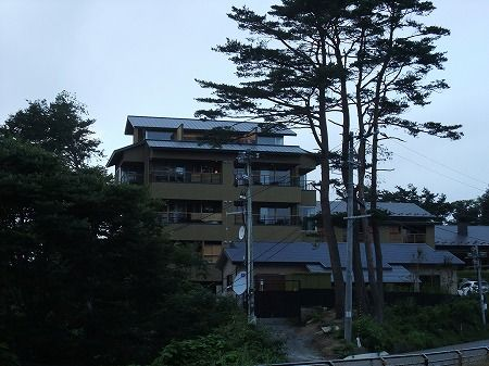 新たろう観光ホテル近景