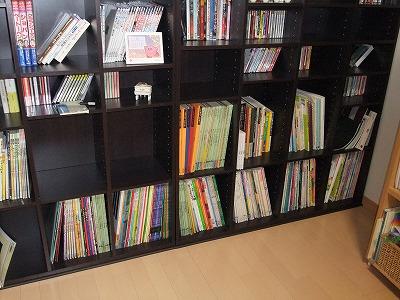 ピアノ室本棚4