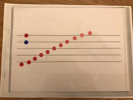五線譜シール1
