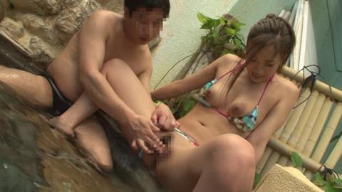 温泉スパリゾートで巨乳美女とガッツリハメ16枚目