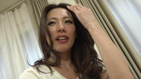 極太チンポに憧れる綺麗な微乳妻-43