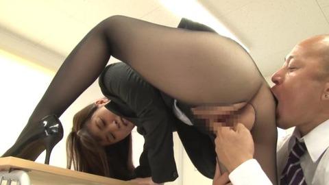 黒パンスト女教師 (5)