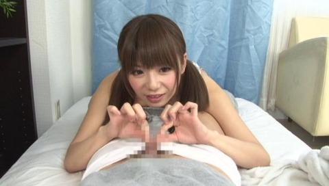 M男の包茎チ○ポを弄る美少女-033