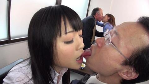 濃厚べろキス美女ヨダレまみれ淫交 (40)
